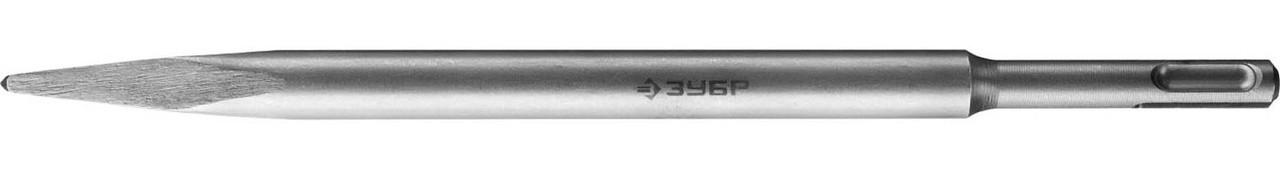 Зубило пикообразное ЗУБР 250 мм, SDS-plus (29231-00-250)