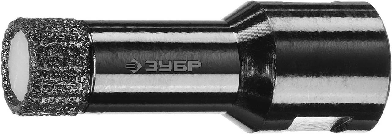 """Коронка универсальная ЗУБР 16 мм, ВВС, М14, алмазная, серия """"Профессионал"""" (29865-16)"""