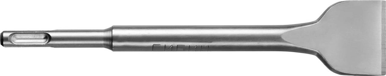 Зубило плоское СИБИН 40 x 200 мм, SDS-Plus (29243-40)