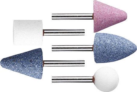 Набор абразивных мини-шарошек насадок STAYER 5 шт., хвостовик Ø 3,2 мм (2988-H5), фото 2
