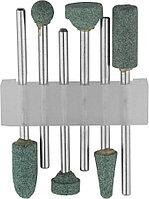 Насадки шлифовальные абразивные STAYER 6 шт., карбид кремния, набор (29921-H6)