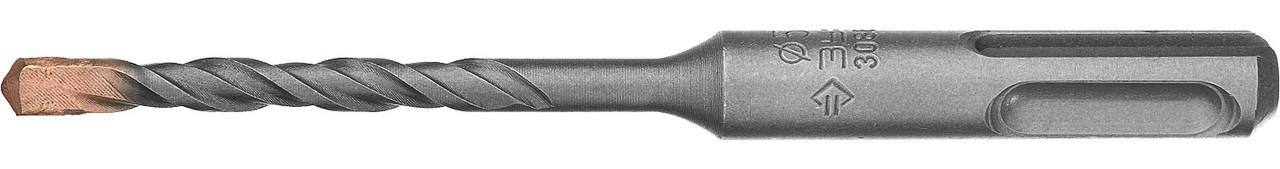 "Бур по бетону ЗУБР 5 x 110 мм, SDS-Plus, серия ""Профессионал"" (29314-110-05_z01)"