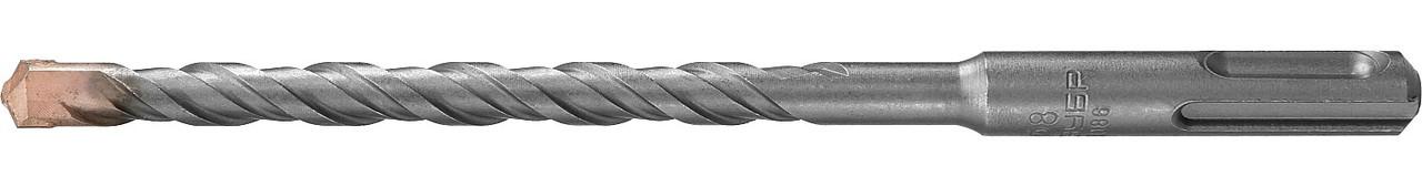 "Бур по бетону ЗУБР 8 x 160 мм, SDS-Plus, серия ""Профессионал"" (29314-160-08_z01)"