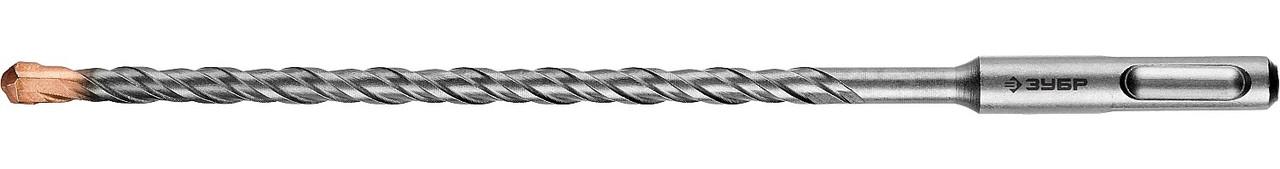 "Бур по бетону ЗУБР 7 x 210 мм, SDS-Plus, серия ""Профессионал"" (29314-210-07_z01)"