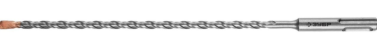 "Бур по бетону ЗУБР 6 x 260 мм, SDS-Plus, серия ""Профессионал"" (29314-260-06_z01)"