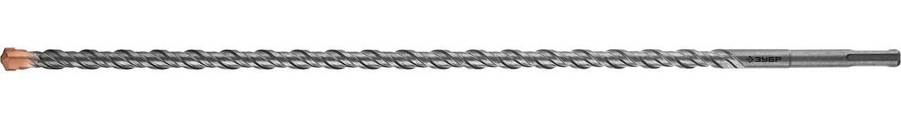 "Бур по бетону ЗУБР 20 x 600 мм, SDS-Plus, серия ""Профессионал"" (29314-600-20_z01)"