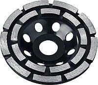 Чашка STAYER 115 мм, L- 22.2 мм, алмазная, сегментная, двухрядная (33381-115)