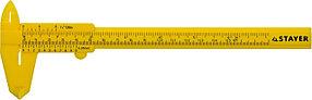 """Штангенциркуль пластмассовый STAYER 150 мм, серия """"Профессионал"""" (3440_z01)"""