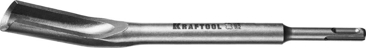 Зубило-штробер полукруглое KRAFTOOL 250 мм, SDS-Plus (29328-22-250_z01)