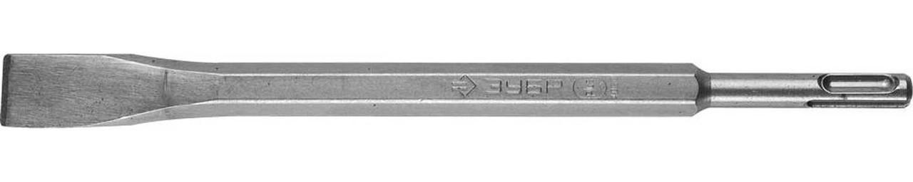 """Зубило плоское ЗУБР 20 x 250 мм, SDS-Plus, серия """"Профессионал"""" (29362-20-250)"""
