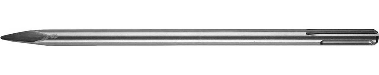 """Зубило пикообразное ЗУБР длина 400 мм, SDS-max, серия """"Профессионал"""" (29381-00-400)"""