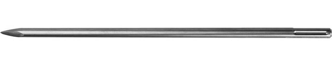 """Зубило пикообразное ЗУБР длина 600 мм, SDS-max, серия """"Профессионал"""" (29381-00-600)"""