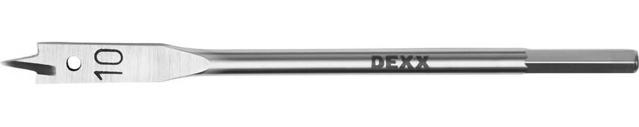 Сверло перовое по дереву DEXX 10 x 152 мм, шестигранный хвостовик (2945-10)