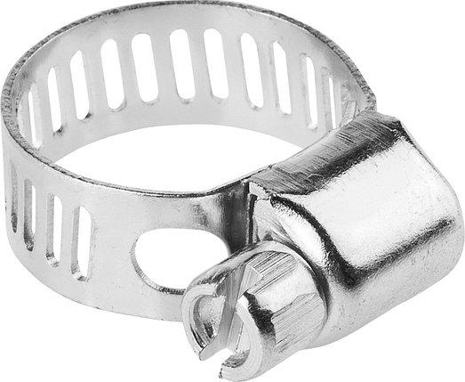 Хомуты STAYER 8-18 мм, 5 шт., стальные оцинкованные (3780-08-18_z01), фото 2