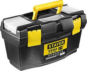 """Ящик для инструментов VEGA-16, STAYER 410 x 210 x 230 мм (16""""), пластиковый (38105-16_z03)"""