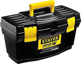 """Ящик для инструментов ORION-16, STAYER 410 x 230 x 230мм (16""""), пластиковый (38110-16_z03)"""