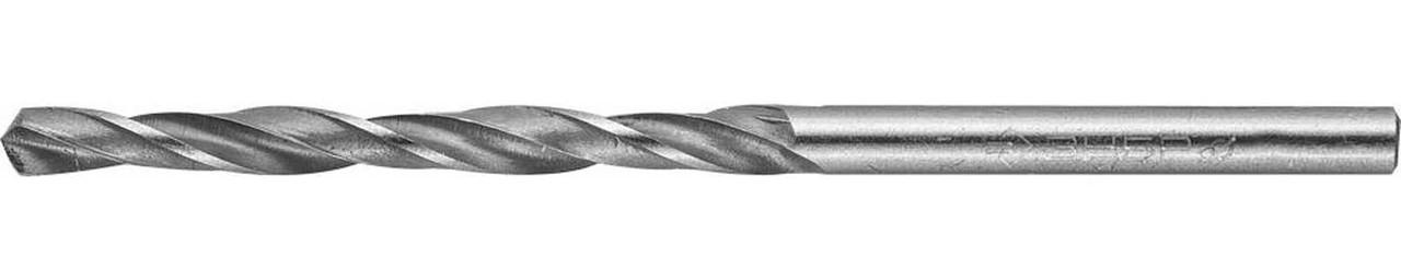 Сверло по металлу ЗУБР Ø 3.5 x 70 мм, Р6М5, класс В (4-29621-070-3.5)