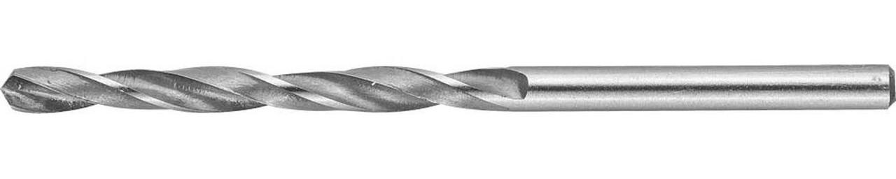 Сверло по металлу ЗУБР Ø 4.1 x 75 мм, Р6М5, класс В (4-29621-075-4.1)
