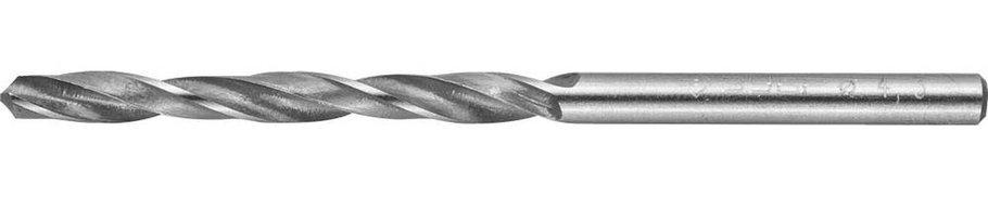 Сверло по металлу ЗУБР Ø 4.3 x 80 мм, Р6М5, класс В (4-29621-080-4.3), фото 2