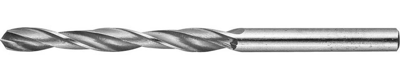Сверло по металлу ЗУБР Ø 5 x 86 мм, Р6М5, класс В (4-29621-086-5)