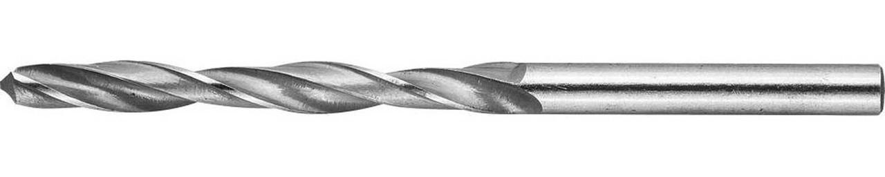 Сверло по металлу ЗУБР Ø 5.1 x 86 мм, Р6М5, класс В (4-29621-086-5.1)