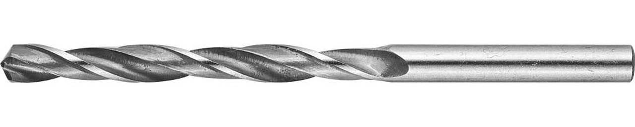 Сверло по металлу ЗУБР Ø 5.4 x 93 мм, Р6М5, класс В (4-29621-093-5.4)
