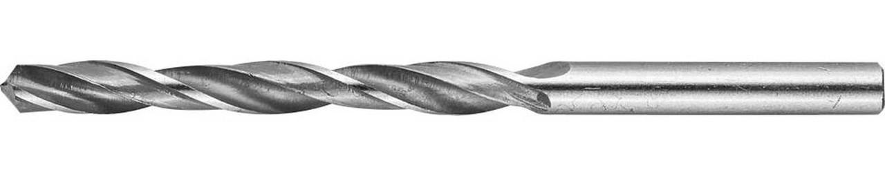 Сверло по металлу ЗУБР Ø 5.7 x 93 мм, Р6М5, класс В (4-29621-093-5.7)