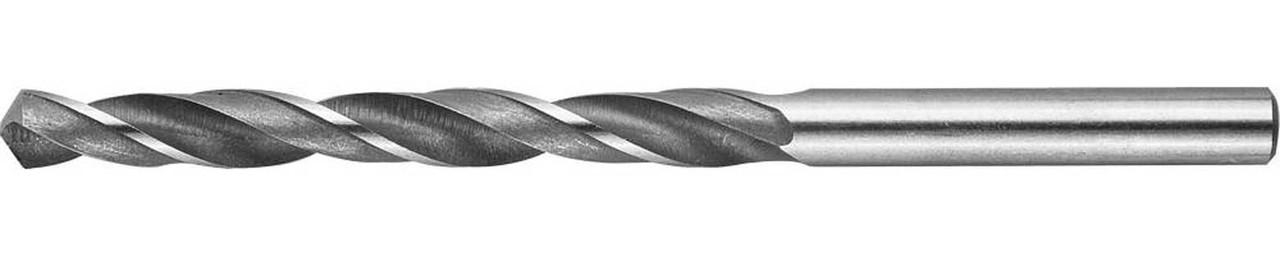 Сверло по металлу ЗУБР Ø 6.6 x 101 мм, Р6М5, класс В (4-29621-101-6.6)