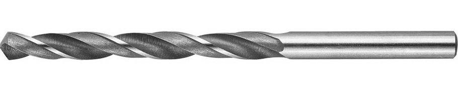 Сверло по металлу ЗУБР Ø 6.6 x 101 мм, Р6М5, класс В (4-29621-101-6.6), фото 2