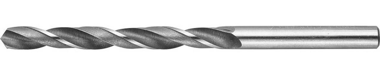Сверло по металлу ЗУБР Ø 6.8 x 109 мм, Р6М5, класс В (4-29621-109-6.8)