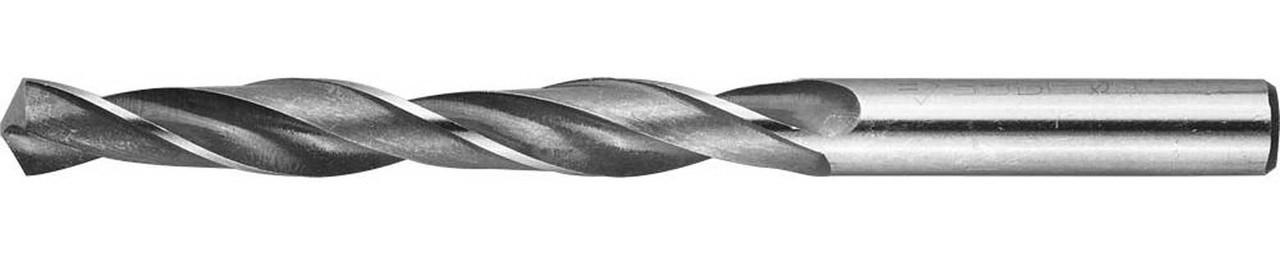 Сверло по металлу ЗУБР Ø 10.2 x 133 мм, Р6М5, класс В (4-29621-133-10.2)