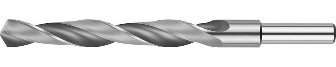 Сверло по металлу ЗУБР Ø 13.5 x 160 мм, Р6М5, класс В, хвостовик 10 мм (4-29621-160-13.5)