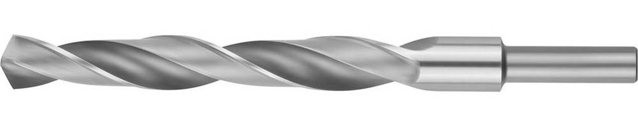 Сверло по металлу ЗУБР Ø 15 x 169 мм, Р6М5, класс В, хвостовик 10 мм (4-29621-169-15)