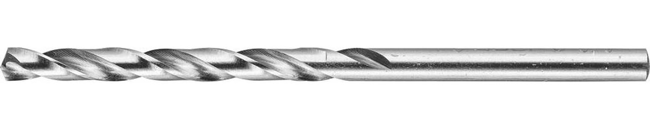 Сверло по металлу ЗУБР Ø 3.8 x 75 мм, класс А, Р6М5 (4-29625-075-3.8)
