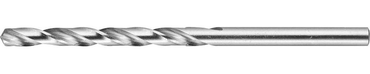 Сверло по металлу ЗУБР Ø 3.9 x 75 мм, класс А, Р6М5 (4-29625-075-3.9)