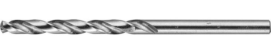 Сверло по металлу ЗУБР Ø 4 x 75 мм, класс А, Р6М5 (4-29625-075-4), фото 2
