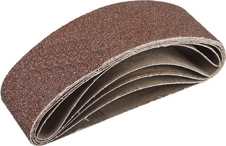 Лента шлифовальная бесконечная для ЛШМ, ЗУБР P40, 75х533 мм, 5 шт., на тканевой основе (35342-040), фото 2