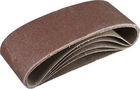 Лента шлифовальная бесконечная для ЛШМ, ЗУБР P60, 100х610 мм, 5 шт., на тканевой основе (35343-060), фото 2