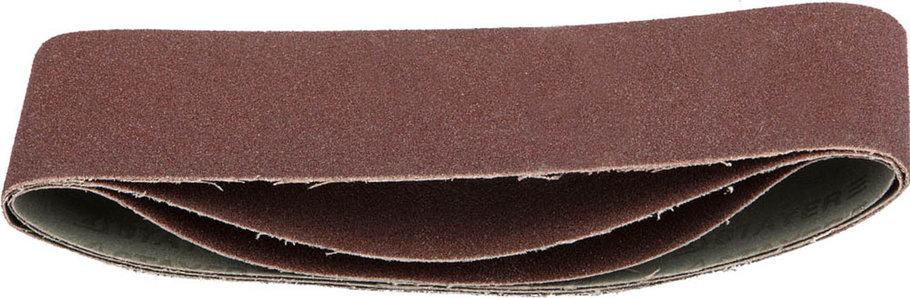 Лента шлифовальная STAYER P60, 75х533 мм, 3 шт., на тканевой основе, универс. бесконечная для ЛШМ (35442-060), фото 2