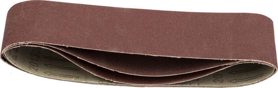 Лента шлифовальная STAYER P180, 75х533 мм, 3 шт., на тканевой основе, универс. бесконечная для ЛШМ (35442-180), фото 2