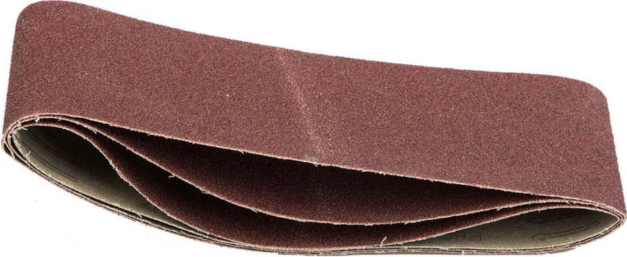 Лента шлифовальная STAYER P60, 100х610 мм, 3 шт., на тканевой основе, универс. бесконечная для ЛШМ (35443-060), фото 2