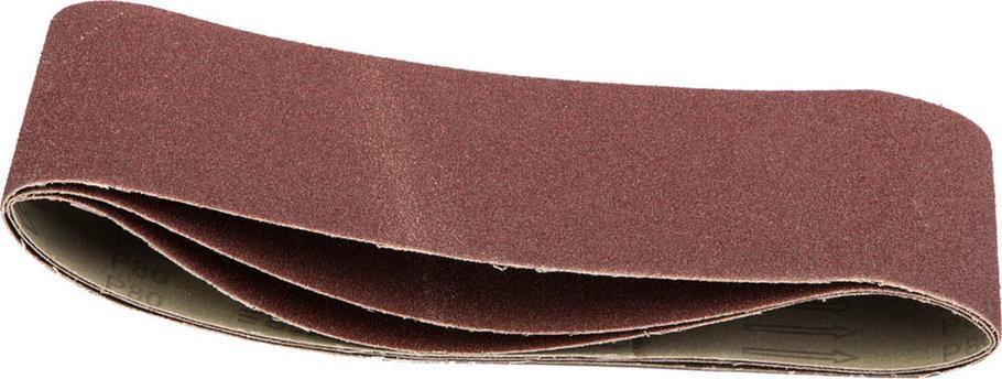 Лента шлифовальная STAYER P80, 100х610 мм, 3 шт., на тканевой основе, универс. бесконечная для ЛШМ (35443-080), фото 2