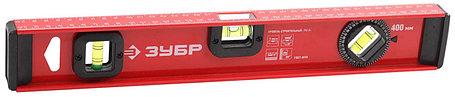 Уровень двутавровый, усиленный ЗУБР 400 мм (4-34583-040), фото 2