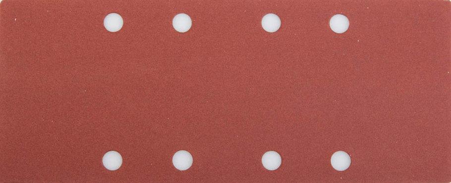 Лист шлифовальный STAYER 93 х 230 мм, P320, 5 шт., универсальный для ПШМ, 8 отверстий по краю (35465-320), фото 2