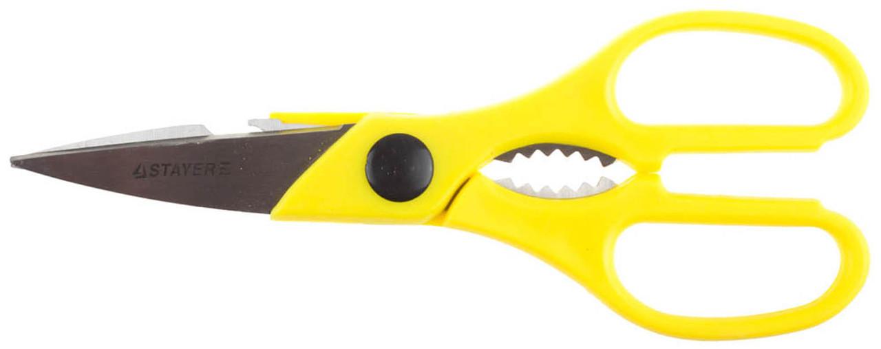 Ножницы кухонные STAYER 215 мм (40470)