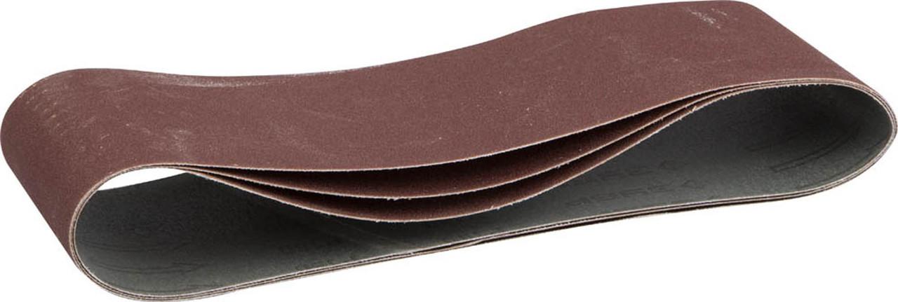 Лента шлифовальная ЗУБР P150, 100х610 мм, 3 шт., универс. бесконечная на тканевой основе для ЛШМ (35543-150)