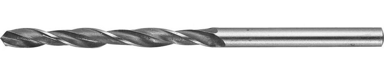 Сверло спиральное по металлу STAYER Ø 4 х 75 мм, Р6М5 (29602-075-4)