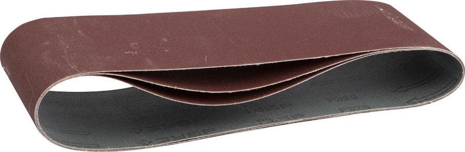 Лента шлифовальная ЗУБР P320, 100х610 мм, 3 шт., универс. бесконечная на тканевой основе для ЛШМ (35543-320), фото 2