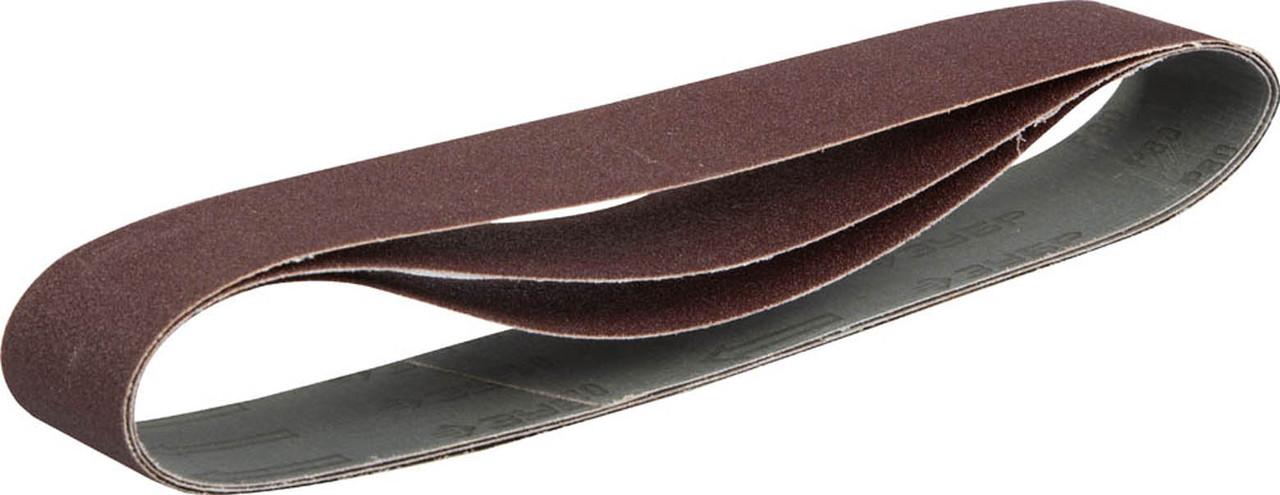 Лента шлифовальная ЗУБР P80, 50х686 мм, 3 шт., универс. бесконечная на тканевой основе для ЗТШМ (35546-080)