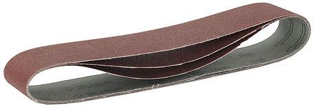 Лента шлифовальная ЗУБР P80, 50х686 мм, 3 шт., универс. бесконечная на тканевой основе для ЗТШМ (35546-080), фото 2